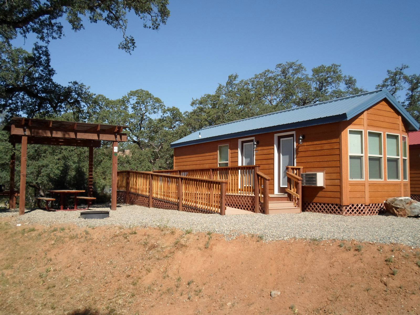 Lake McClure ADA Compliant Cabins