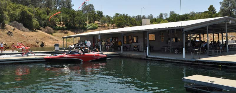 Lake McClure Boating & Marinas