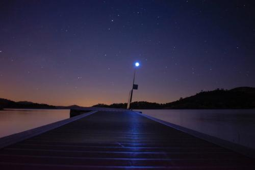 Dock-at-night